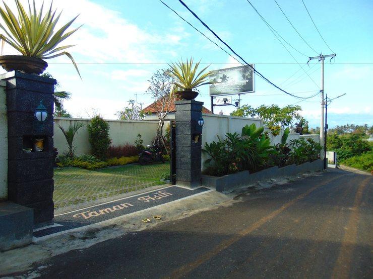 Taman Asih Bingin Homestay Bali - Hotel Entrance