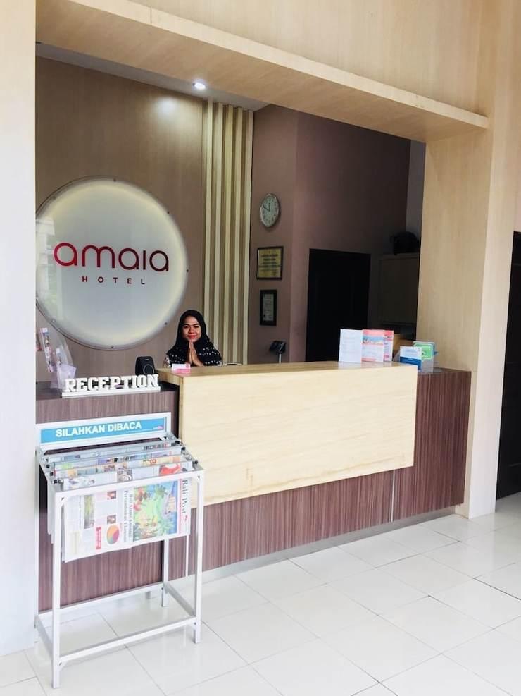 Amaia Hotel Lombok - Reception