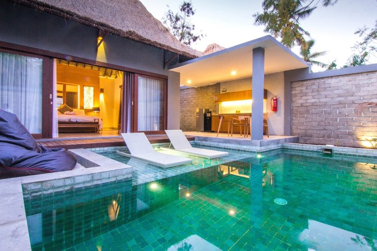 A Villa Gili Air Lombok - Featured Image
