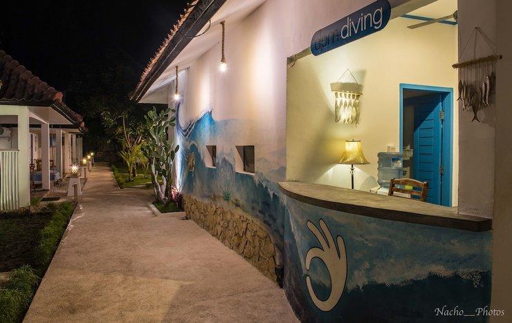 Dpm Gili T Diving Hostel & Bar Lombok - Featured Image