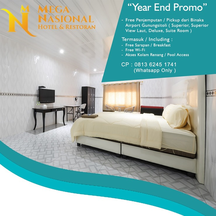 Hotel Mega Nasional Nias - Room