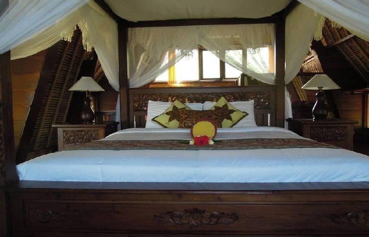 Kawi Karma Beach Cottages Amed - Kamar tidur