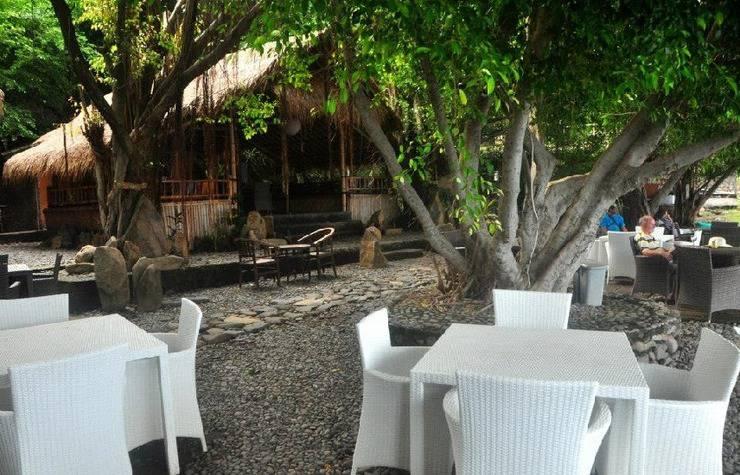 Kawi Karma Beach Cottages Amed - dapur luar ruangan