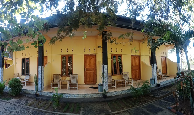 Roby Homestay Lombok - Foto depan