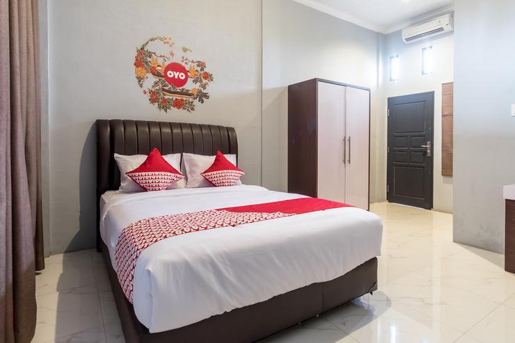 OYO 470 green KNO Deli Serdang - Bedroom