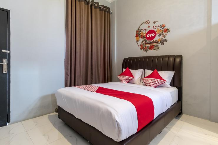 OYO 470 green KNO Deli Serdang - Bedroom