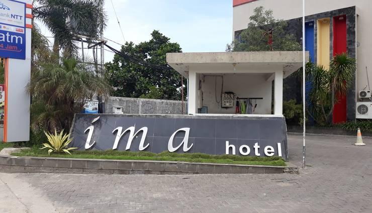 Hotel Ima Kupang - Tampilan Depan