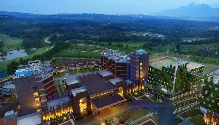Aston Sentul Lake Resort & Conference Center Bogor - Pemandangan
