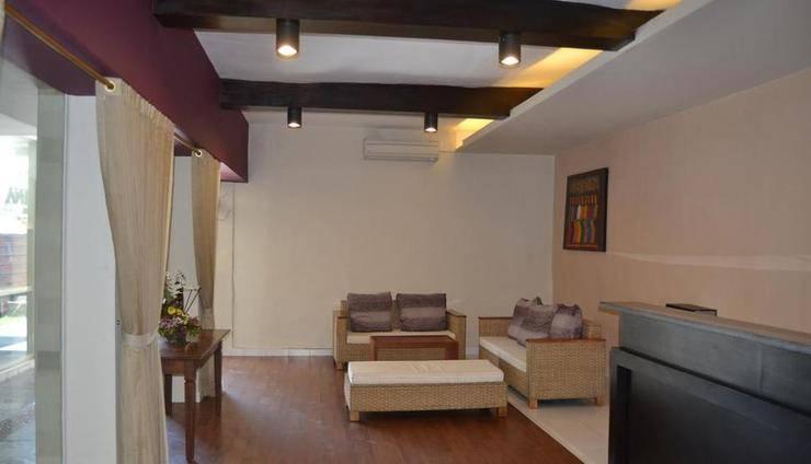 Svarna Hotel Sanur Bali - Ruang tamu