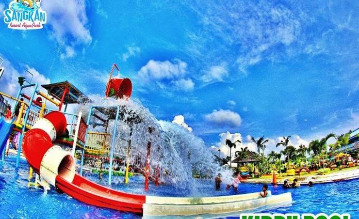 Sangkan Resort Aqua Park Kuningan - Taman Air