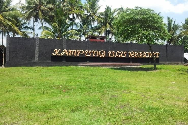 Kampoeng Ulu Resort Magelang - Tampilan Luar Resort