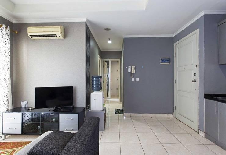 RedDoorz Apartment @MOI Gading Jakarta - Ruang tamu