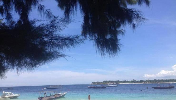 Warna Beach Hotel Lombok - View