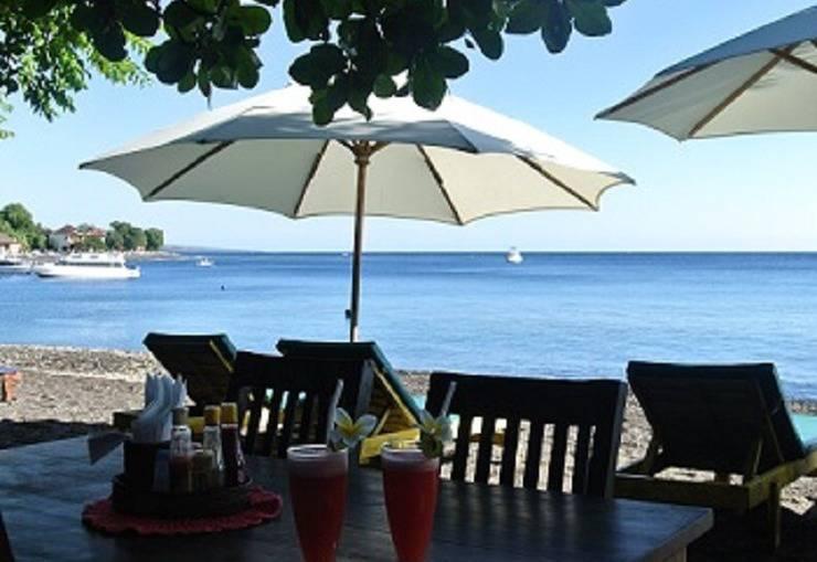 Villa Coral Amed - Restoran