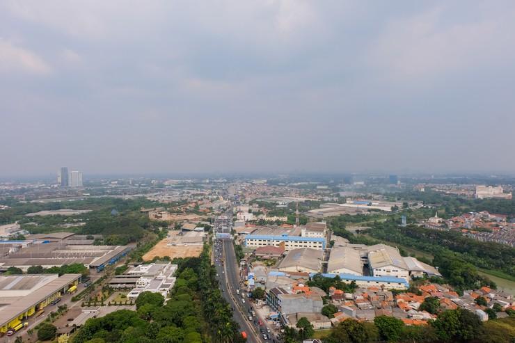 New Furnished Studio @ Springwood Residence By Travelio Tangerang - Pemandangan kota
