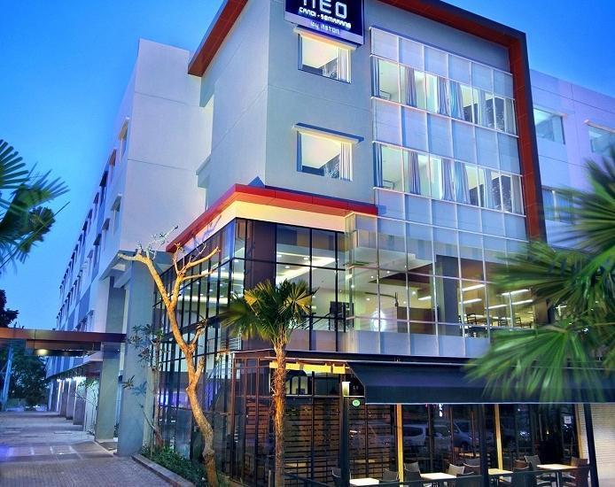 Hotel Neo Candi Simpang Lima - Semarang by ASTON Semarang - Ekterior Hotel