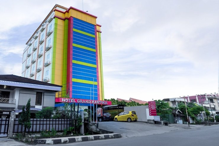 Hotel Grand Kartika Samarinda - Depan