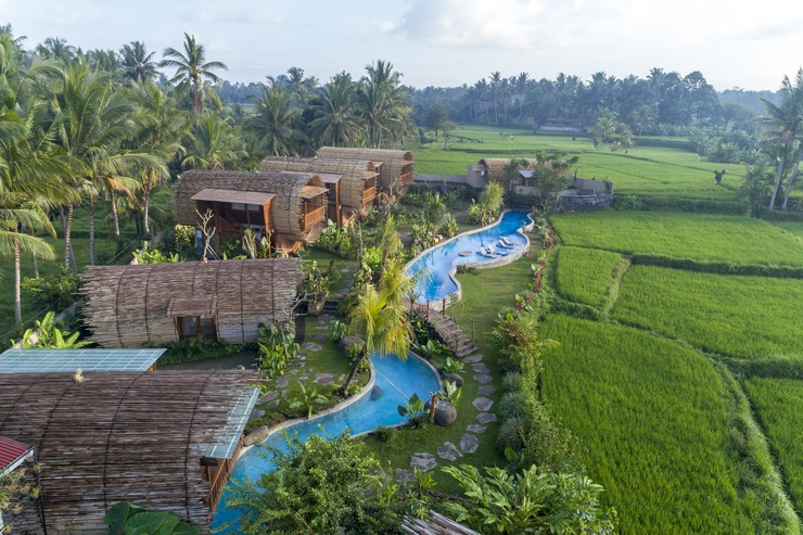 Adiwana Bee House Bali - view