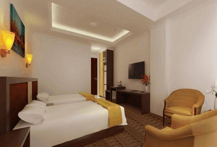 Grand Asrilia Hotel Convention & Restaurant Bandung - Deluxe Twin