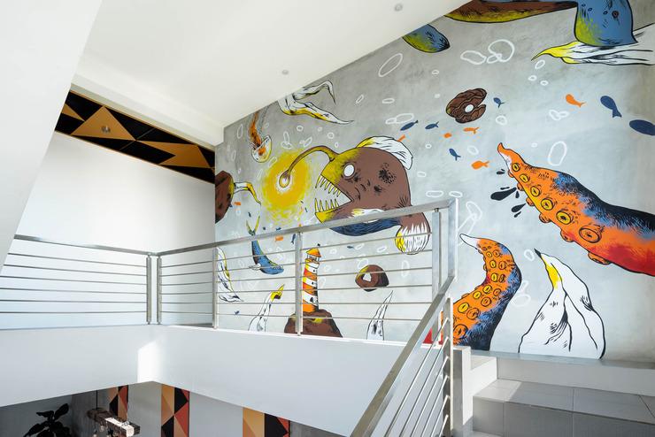 The Journey Hotel Yogyakarta Yogyakarta - Mural 2nd Floor