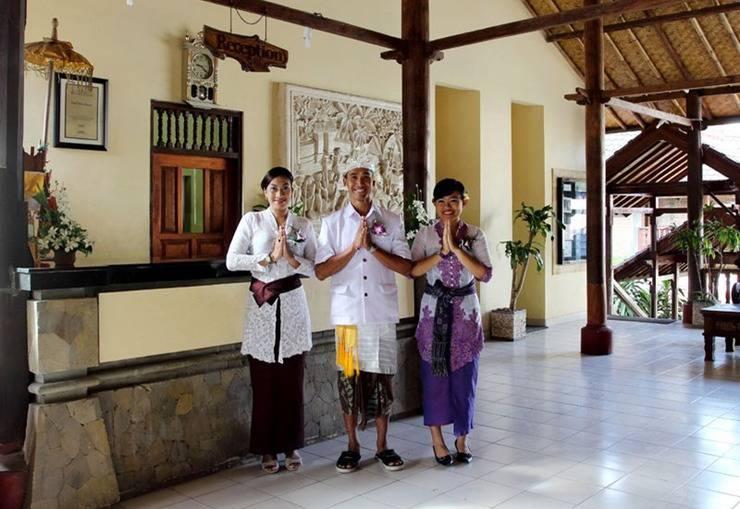 Bali Palms Resort Bali - Resepsionis