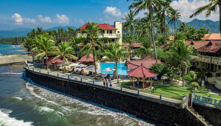 Bali Palms Resort Bali - tampak Bali Palms Resort