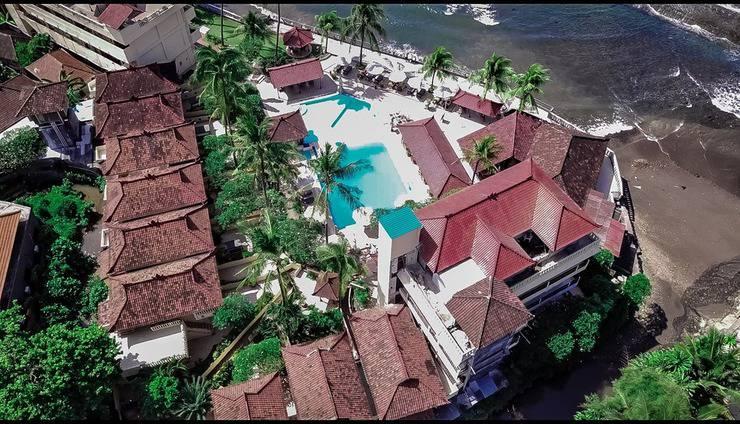 Bali Palms Resort Bali - tanpak dari udara