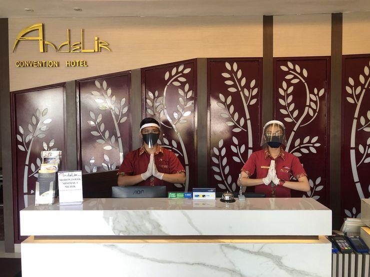 Andelir Hotel Simpang Lima Semarang - Reception