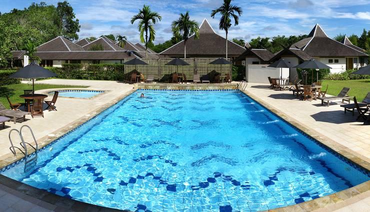 Rungan Sari Resort Palangkaraya - Kolam Renang