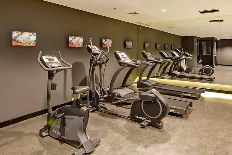 Rooms Inc Hotel Semarang - Gym Center
