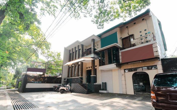 Otten Inn Bandung - View Depan