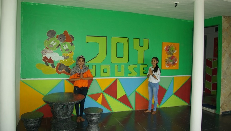 Joy House Pangkalpinang - Depan Hotel