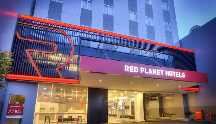 Red Planet Jakarta Pasar Baru Jakarta - Building Appearance