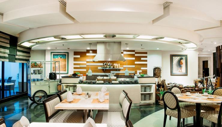 The Papandayan Hotel  Bandung - Pago Restaurant