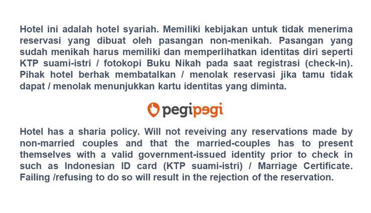 Grand Transit Hotel Syariah Medan - SYARAT & KETENTUAN