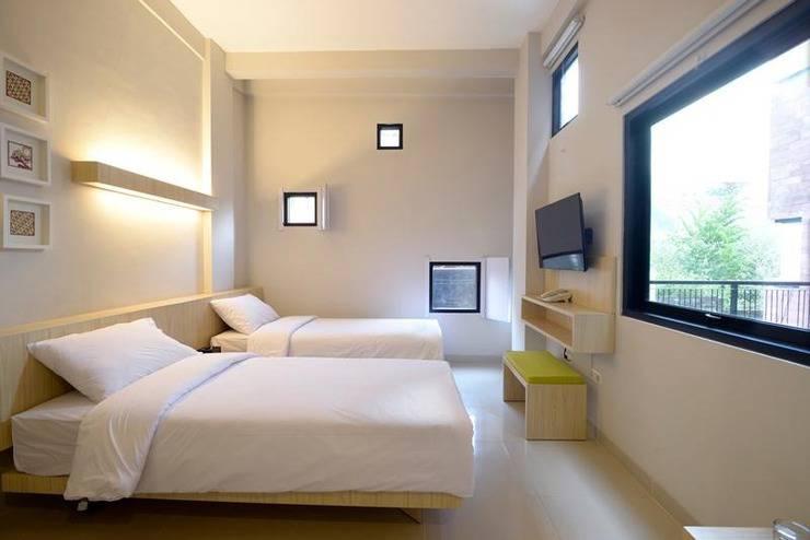 Hotel Arjuna Kota Batu Malang - Tempat tidur twin