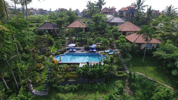 Villa Capung Mas Bali - Facade
