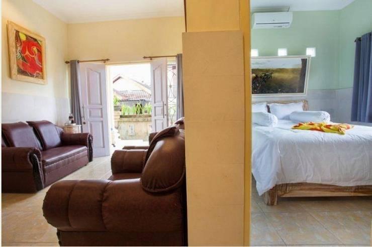 Kubu Jepun Villa Bali - Ruang tamu dan kamar