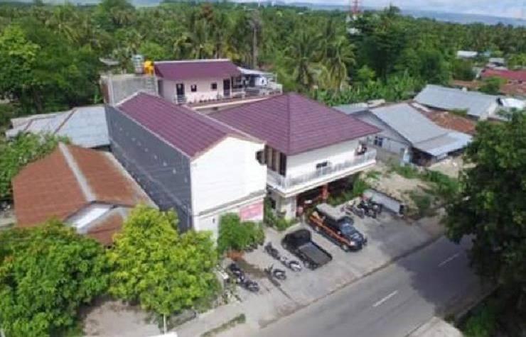 Sacca Residence & Restoran Pulau Sumba - pemandangan dari atas
