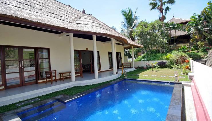 Medewi Bay Retreat Bali - Kolam Renang Villa pribadi TwoBedroom