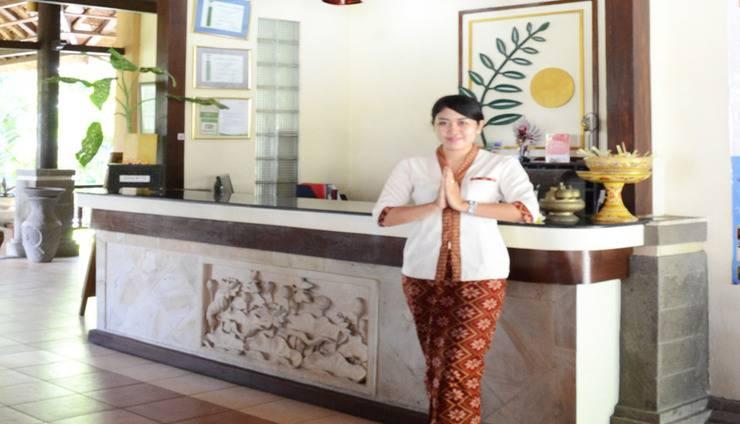 Medewi Bay Retreat Bali - Resepsionis