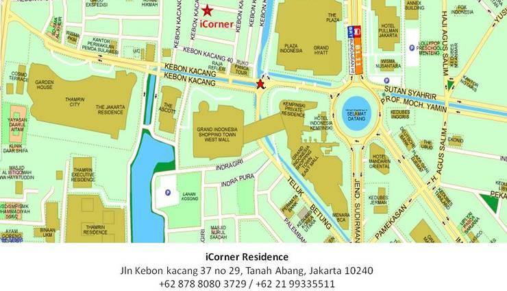 Icorner Residence Jakarta - Location
