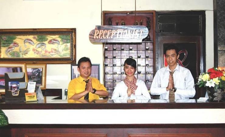 Hotel Mitra Inn Kediri - Resepsionis