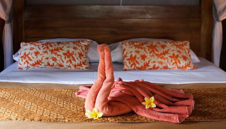 Mushroom Garden Villas Bali - Kamar tidur