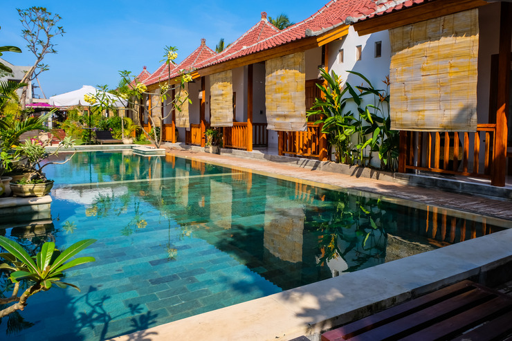 OYO 1096 Bungalow And Restaurant Anda Lombok - Swimming pool