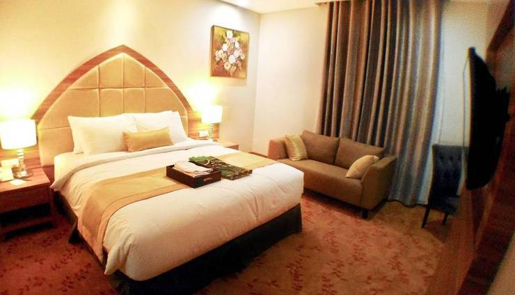 Grand Serela Hotel Yogyakarta - UKURAN TEMPAT TIDUR KAMAR KING DELUXE