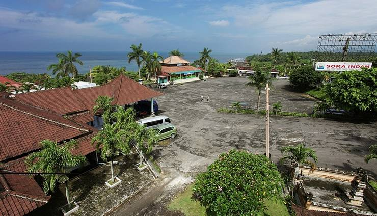 Soka Indah Bali - Parkir mobil 2
