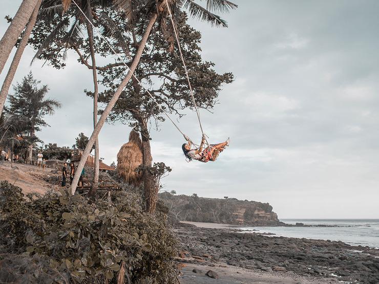 Soka Indah Bali - soka swing