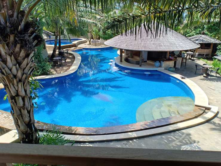 Coconut Lodge Jepara - Pool view