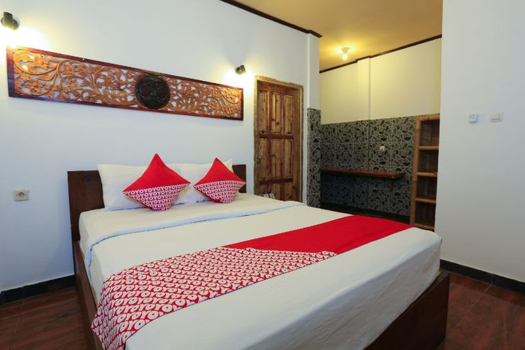 OYO 1408 Coral Choice Gili Trawangan Lombok - Bedroom S/D